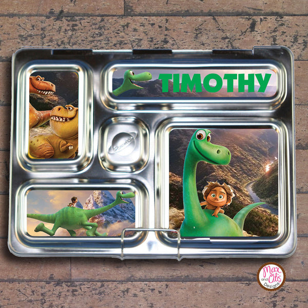 PlanetBox Rover Personalized Magnets - Good Dinosaur - Max & Otis Designs
