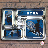 PlanetBox Rover Personalized Magnets - Lacrosse - Max & Otis Designs