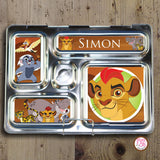 PlanetBox Rover Personalized Magnets - Lion Guard - Max & Otis Designs