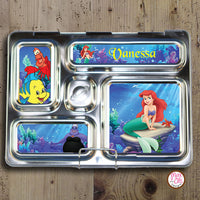 PlanetBox Rover Personalized Magnets - Little Mermaid - Max & Otis Designs
