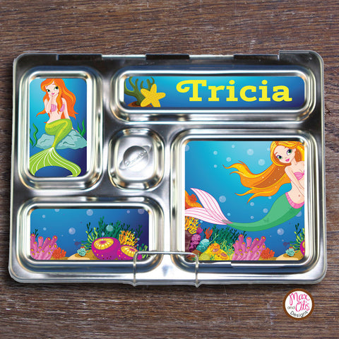 PlanetBox Rover Personalized Magnets - Mermaid - Max & Otis Designs