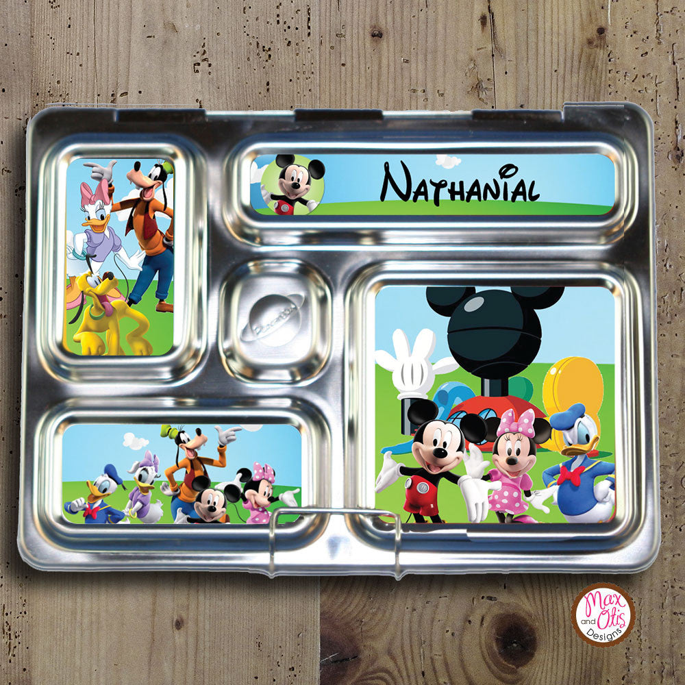 PlanetBox Rover Personalized Magnets - Mickey Mouse Clubhouse - Max & Otis Designs