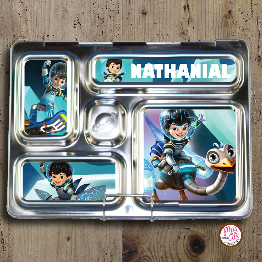PlanetBox Rover Personalized Magnets - Miles of Tomorrowland - Max & Otis Designs