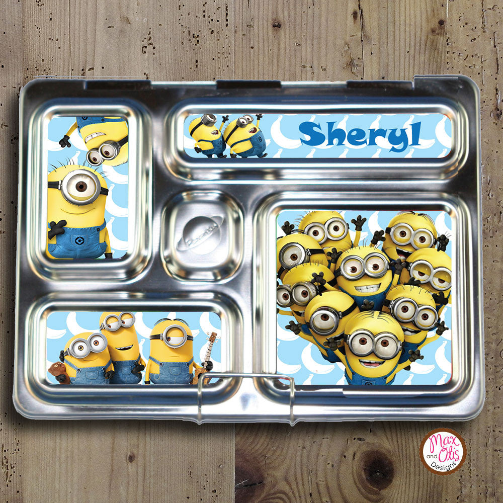 PlanetBox Rover Personalized Magnets - Minions