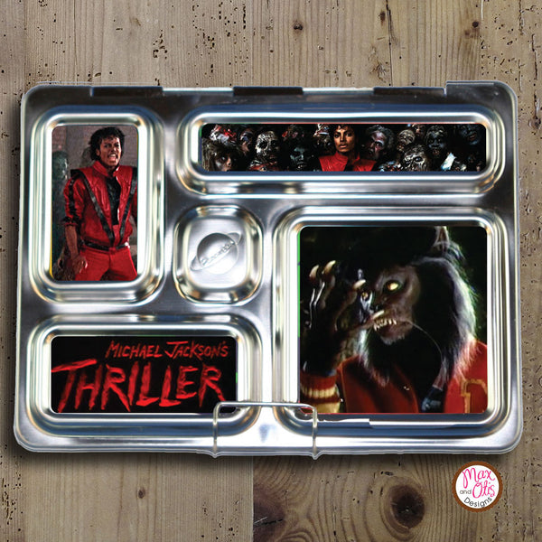 PlanetBox Rover Personalized Magnets - Michael Jackson's Thriller  (non-editable) - Max & Otis Designs