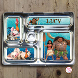 PlanetBox Rover Personalized Magnets - Disney's Moana - Max & Otis Designs