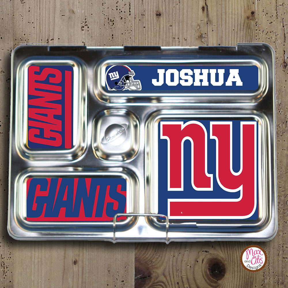 PlanetBox Rover Personalized Magnets - New York Giant's - Max & Otis Designs