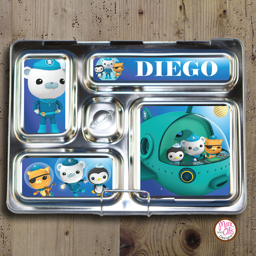 PlanetBox Rover Personalized Magnets - Octonauts - Max & Otis Designs
