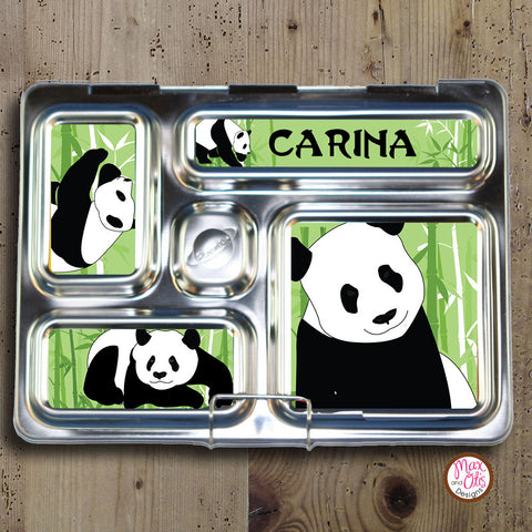 PlanetBox Rover Personalized Magnets - Panda - Max & Otis Designs