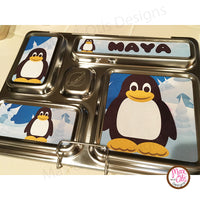 PlanetBox Rover Personalized Magnets - Penguin - Max & Otis Designs