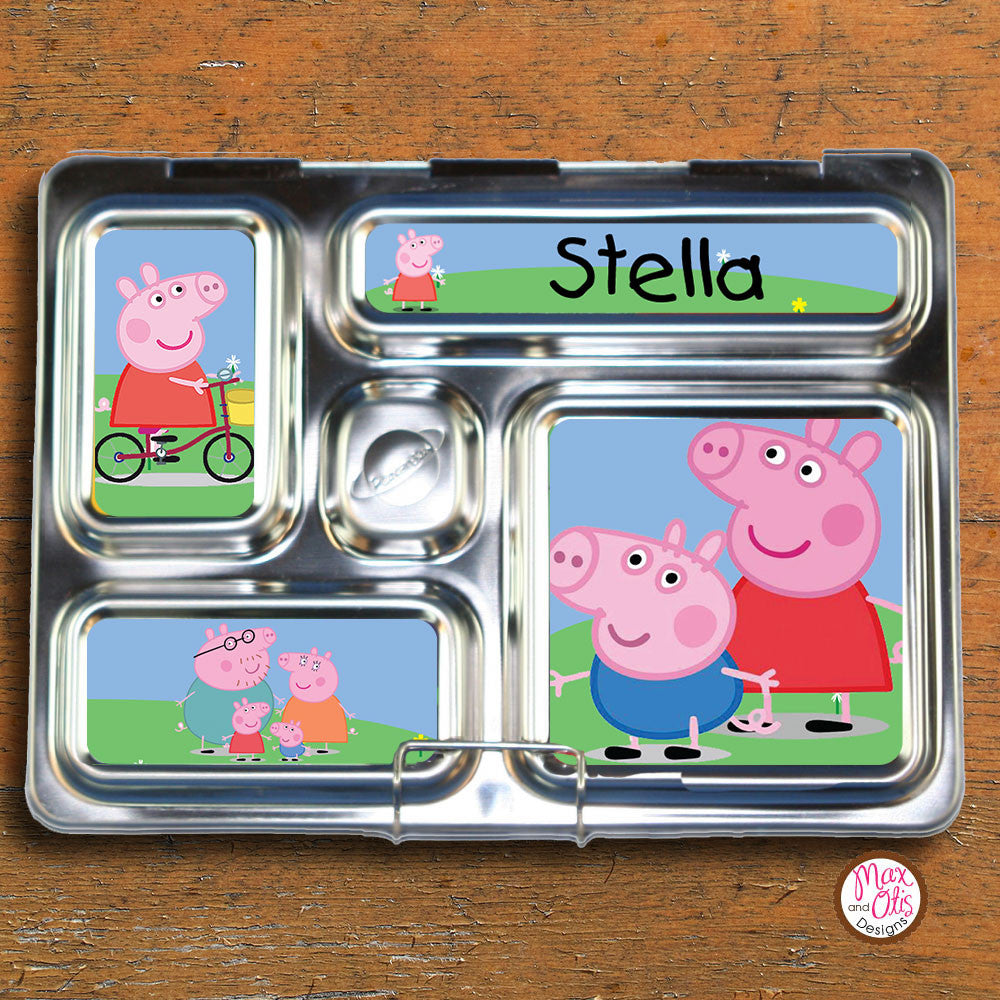 PlanetBox Rover Personalized Magnets - Peppa Pig