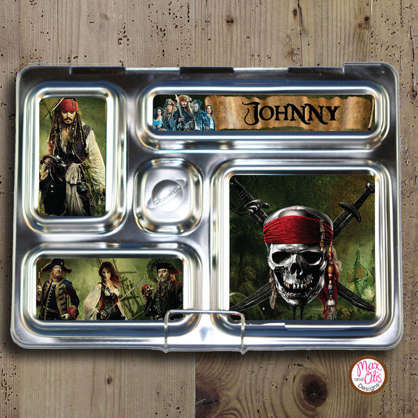 PlanetBox Rover Personalized Magnets - Pirates of the Caribbean - Max & Otis Designs