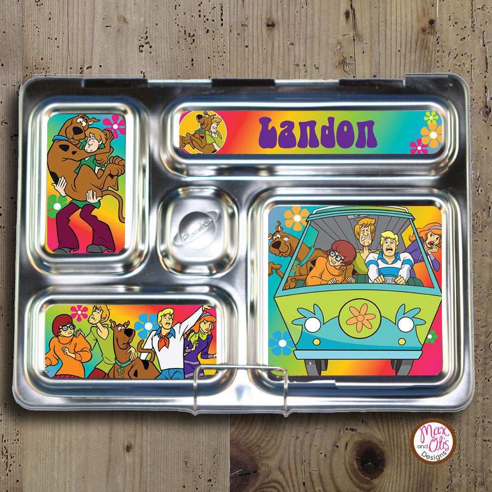 PlanetBox Rover Personalized Magnets - Scooby Doo - Max & Otis Designs