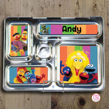 PlanetBox Rover Personalized Magnets - Sesame Street - Max & Otis Designs