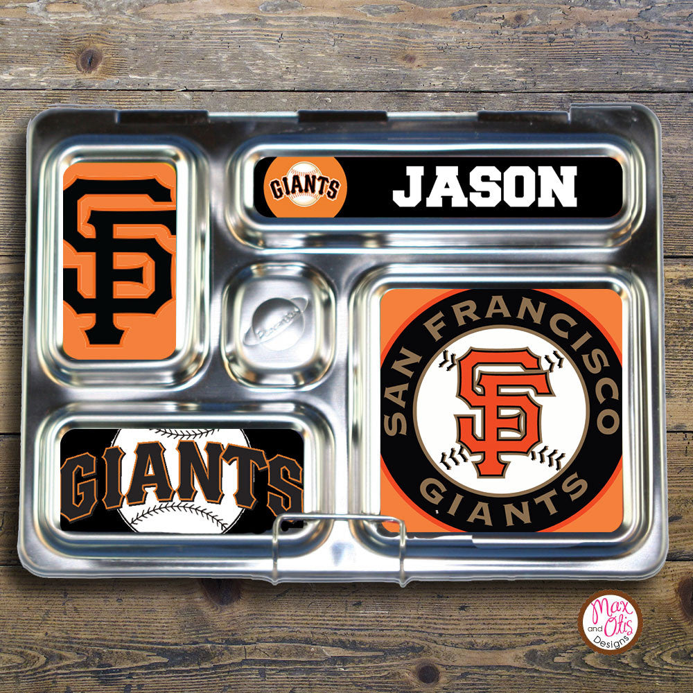 PlanetBox Rover Personalized Magnets - San Francisco Giants - Max & Otis Designs