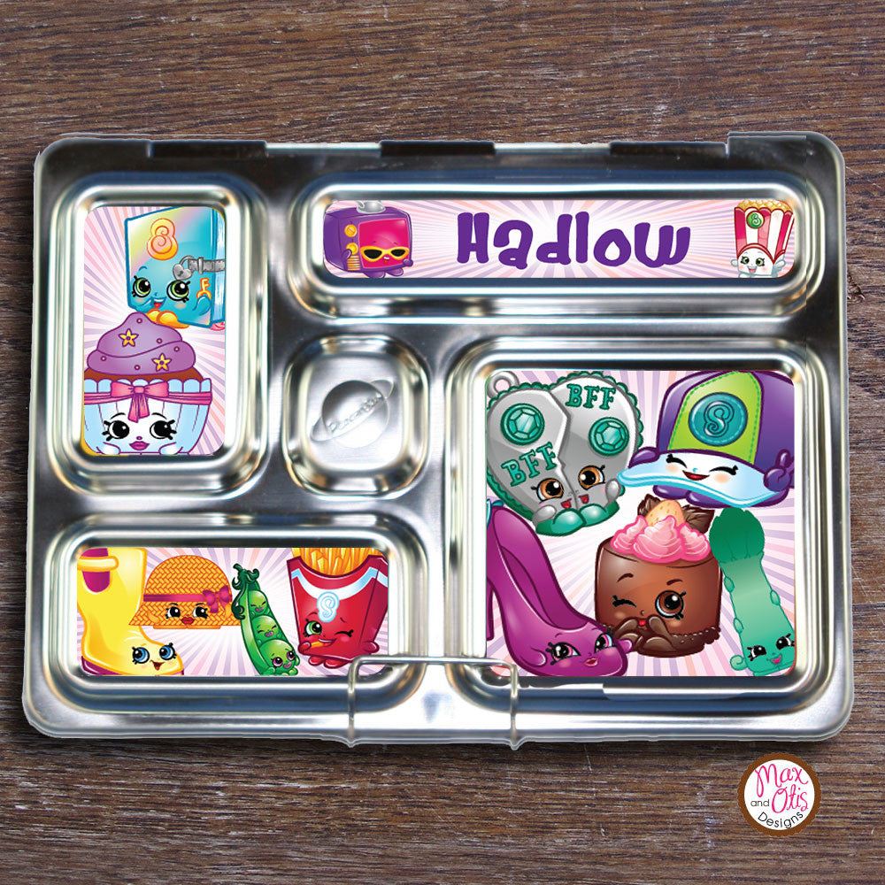 PlanetBox Rover Personalized Magnets - Shopkins - Max & Otis Designs