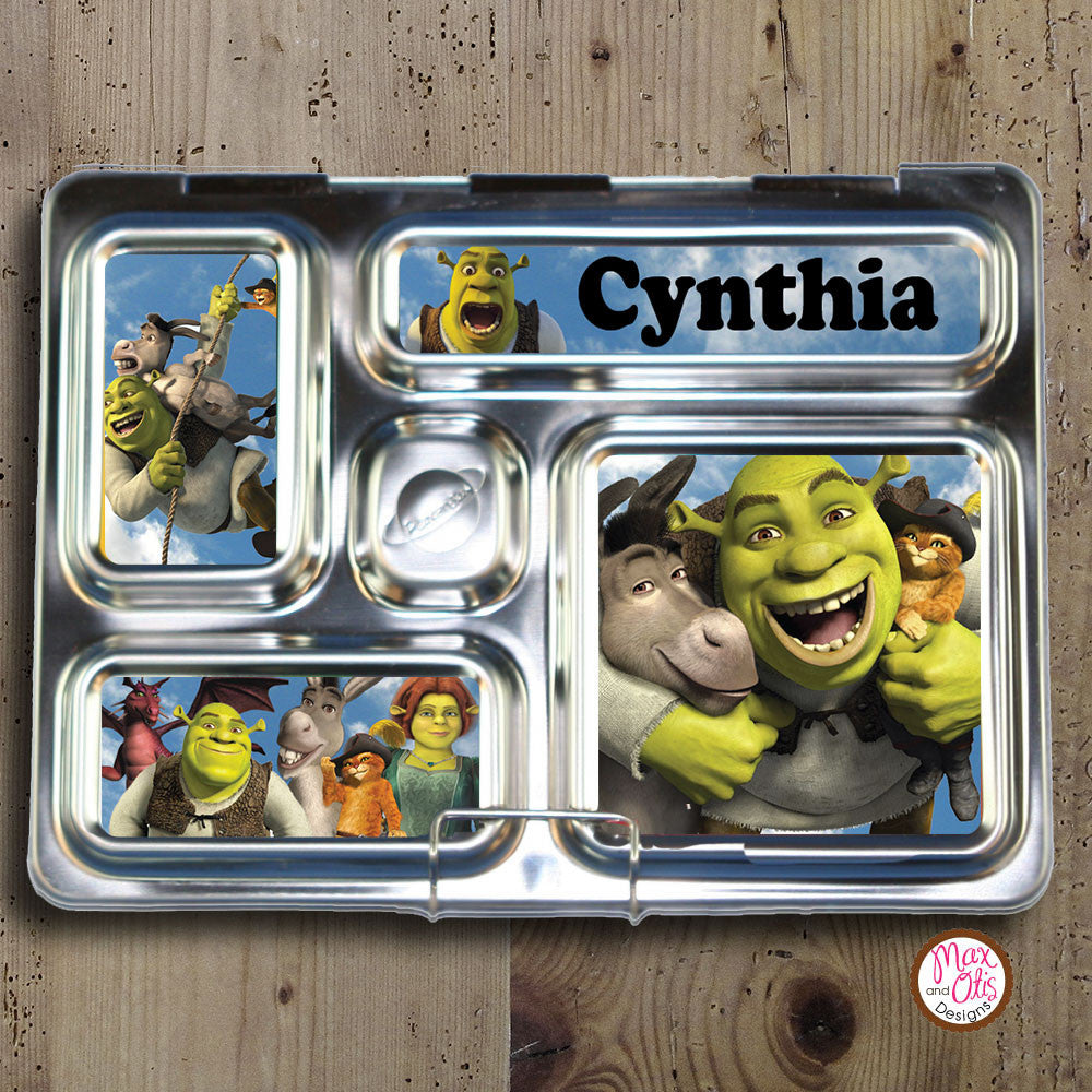 PlanetBox Rover Personalized Magnets - Shrek - Max & Otis Designs