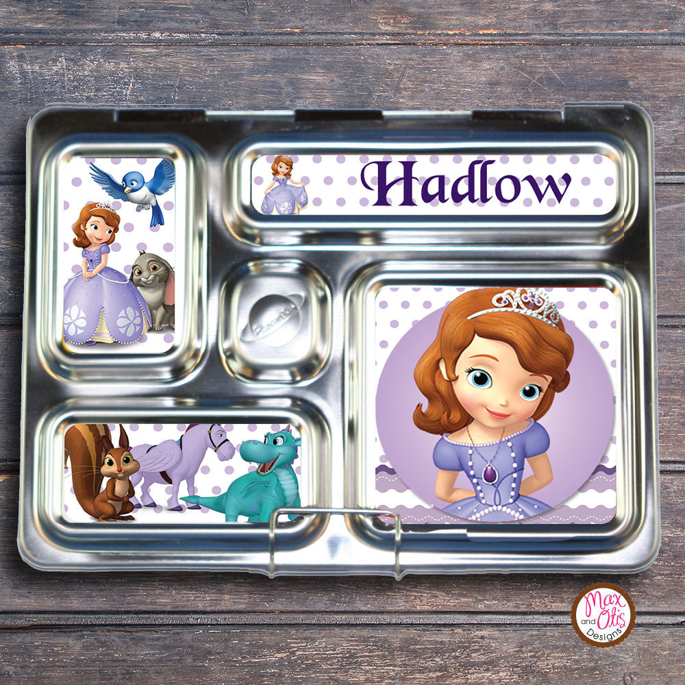 PlanetBox Rover Personalized Magnets - Sofia the First - Max & Otis Designs