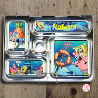 PlanetBox Rover Personalized Magnets - Spongebob Squarepants - Max & Otis Designs