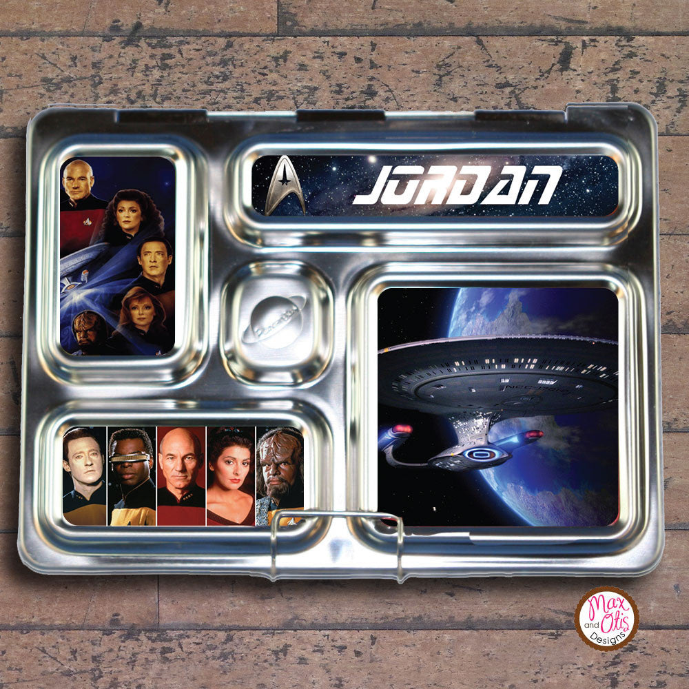 PlanetBox Rover Personalized Magnets - Star Trek - Max & Otis Designs