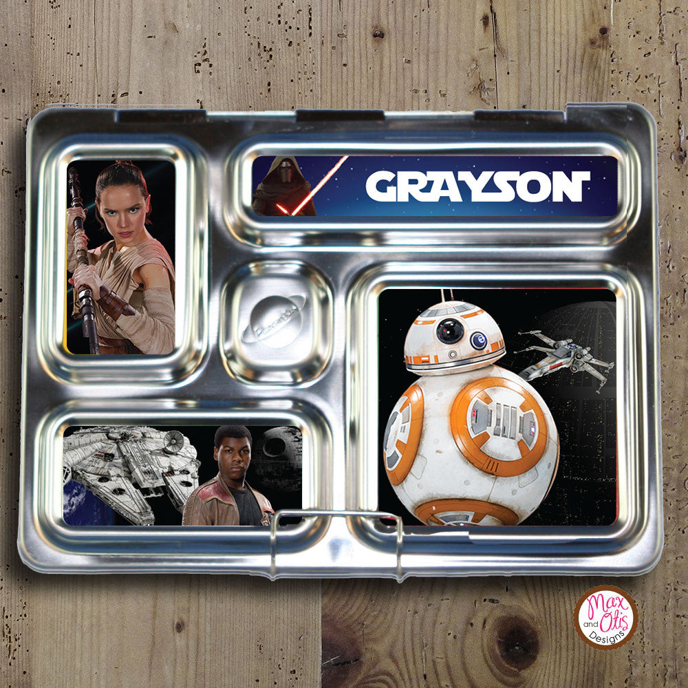 PlanetBox Rover Personalized Magnets - Star Wars VII - Max & Otis Designs