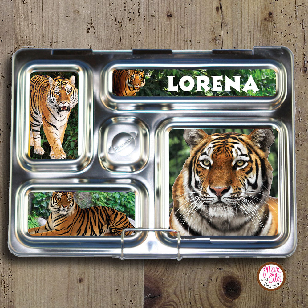 PlanetBox Rover Personalized Magnets - Tigers - Max & Otis Designs