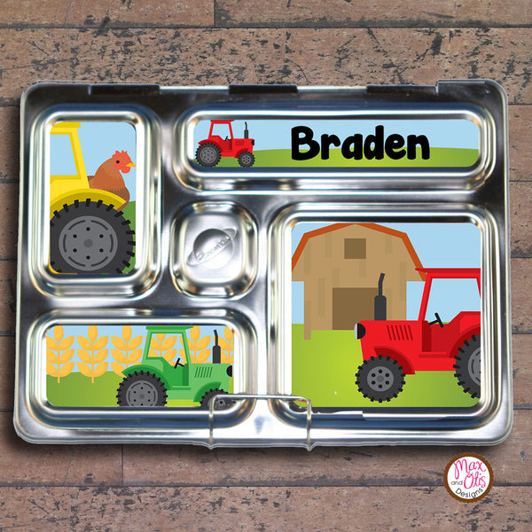 PlanetBox Rover Personalized Magnets - Tractors - Max & Otis Designs