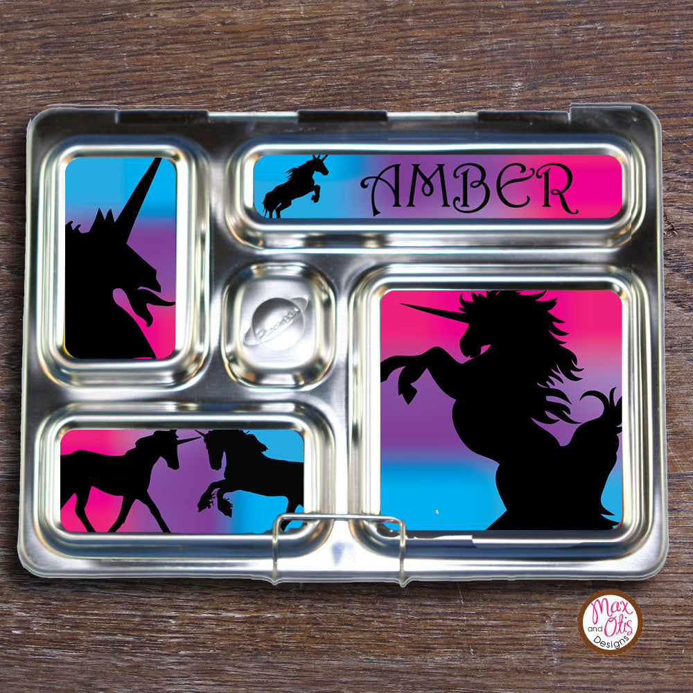 PlanetBox Rover Personalized Magnets - Unicorn - Max & Otis Designs