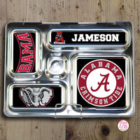 PlanetBox Rover Personalized Magnets - Univ of Alabama Crimson Tide - Max & Otis Designs