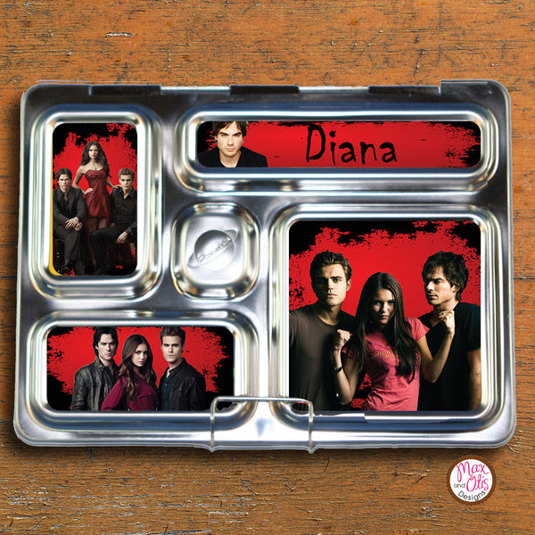 PlanetBox Rover Personalized Magnets - Vampire Diaries - Max & Otis Designs