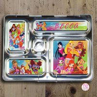 PlanetBox Rover Personalized Magnets - Winx Club - Max & Otis Designs