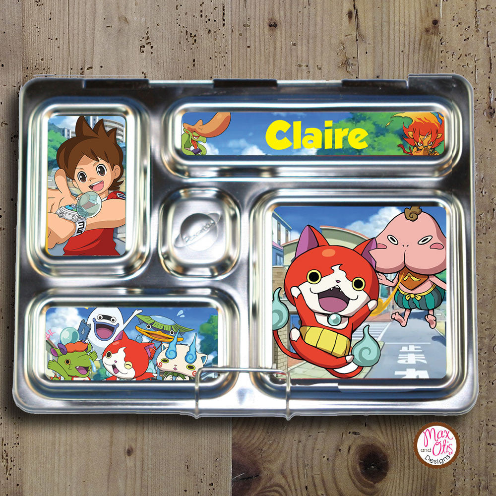 PlanetBox Rover Personalized Magnets - Yo-Kai Watch