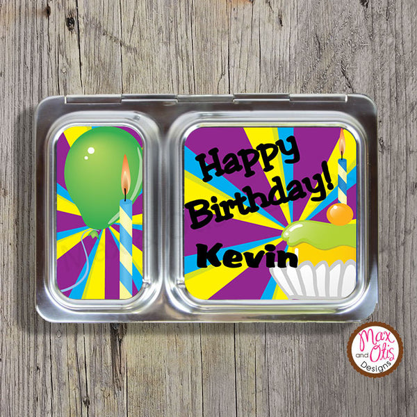 PlanetBox Shuttle Personalized Magnets - Birthday - Max & Otis Designs
