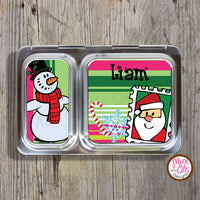 PlanetBox Shuttle Personalized Magnets - Christmas - Max & Otis Designs