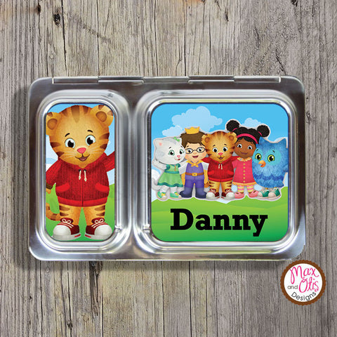 PlanetBox Shuttle Personalized Magnets - Daniel Tiger's Neighborhood - Max & Otis Designs