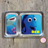 PlanetBox Shuttle Personalized Magnets - Finding Dory - Max & Otis Designs