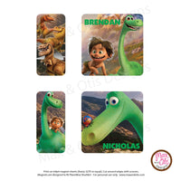 PlanetBox Shuttle Personalized Magnets - Good Dinosaur - Max & Otis Designs