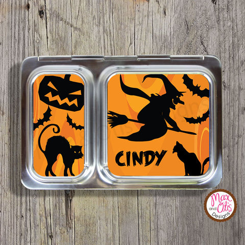 PlanetBox Shuttle Personalized Magnets - Halloween - Max & Otis Designs