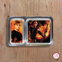 PlanetBox Shuttle Personalized Magnets - Hunger Games - Max & Otis Designs