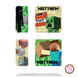 PlanetBox Shuttle Personalized Magnets - Minecraft - Max & Otis Designs