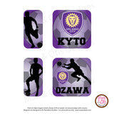 PlanetBox Shuttle Personalized Magnets - Soccer Orlando City - Max & Otis Designs