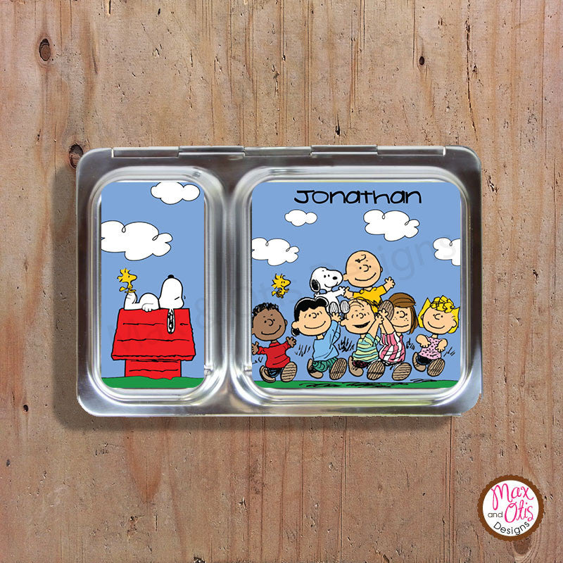 PlanetBox Shuttle Personalized Magnets - Snoopy - Max & Otis Designs