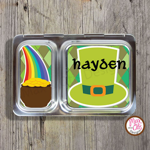 PlanetBox Shuttle Personalized Magnets - St. Patrick's Day