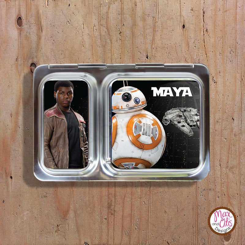 PlanetBox Shuttle Personalized Magnets - Star Wars VII - Max & Otis Designs