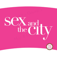 Printable Cupcake Wrappers - Sex and the City - Max & Otis Designs
