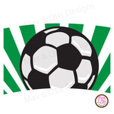 Printable Cupcake Wrappers - Soccer - Max & Otis Designs