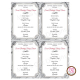 Girl Scout Junior Social Butterfly Menu (editable PDF) - Max & Otis Designs