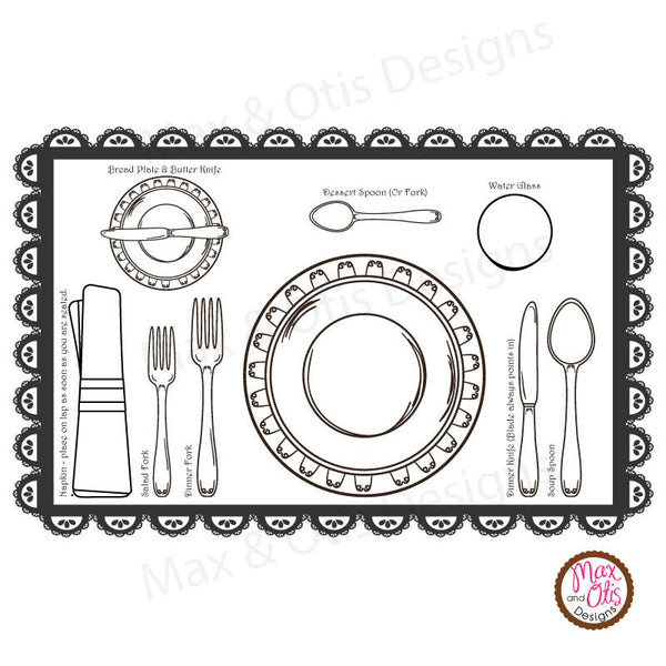 graphic relating to Printable Placemat referred to as Lady Scout Printable Juniors Social Butterfly Badge Destination Environment Spot Mat