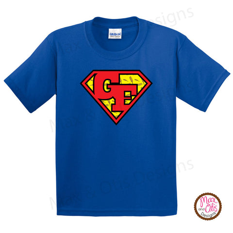 Printable Iron-On Transfer - Gluten Free Superman
