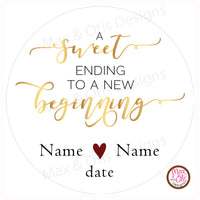 "Printable 2"" Tags & Labels - Wedding FavorTag (Editable PDF) - Max & Otis Designs"